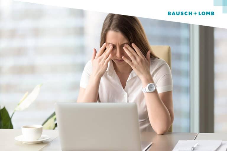 Jak dbać o wzrok pracując przy komputerze?