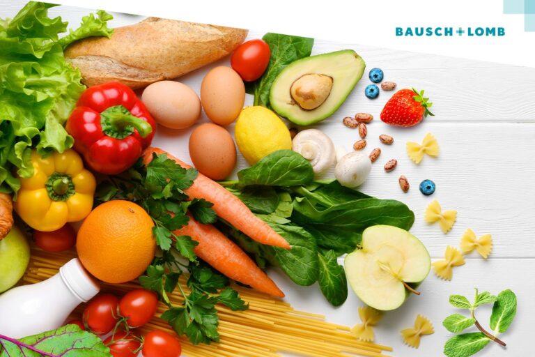 Zdrowa żywność, dieta dobra dla oczu - co jeść?