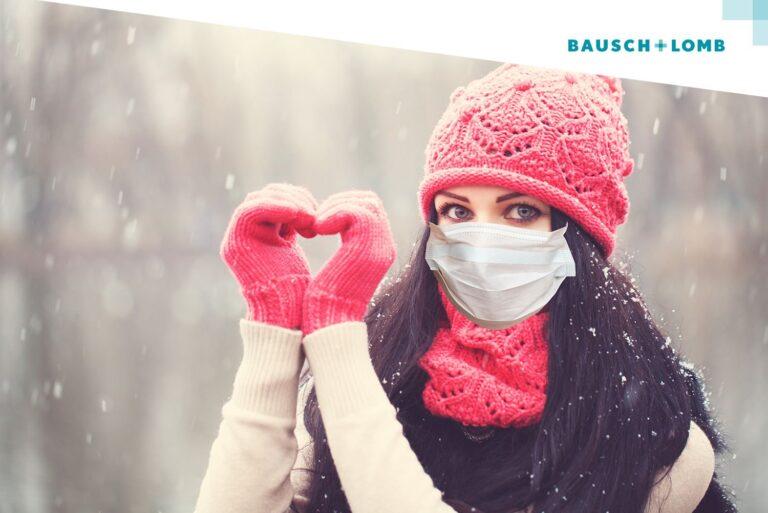 Noszenie soczewek kontaktowych zimą