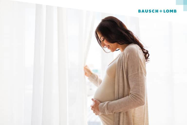 Czy można nosić soczewki będąc w ciąży?