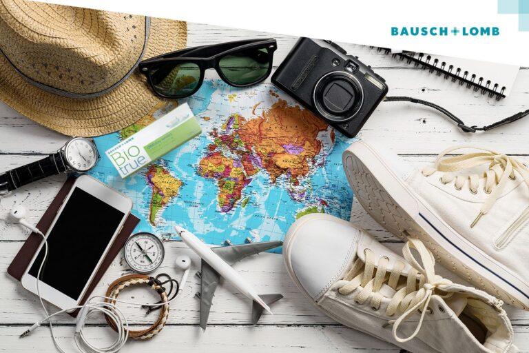Jak dbać o soczewki kontaktowe w podróży?